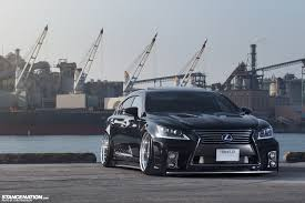 wide u0026 aggressive liberty vip lexus ls460 vip stanced pinterest cars