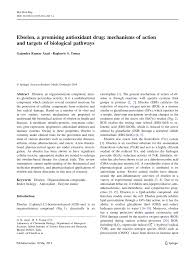 ebselen a promising antioxidant drug mechanisms of action and