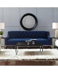 navy blue velvet sofa spectacular deal on silvio navy blue velvet sofa button tufted