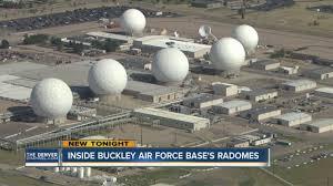 buckley afb map inside buckley air bases radomes