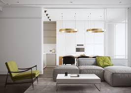 this refined two bedroom apartment is work design team