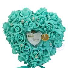 free shipping new elegant rose wedding favors heart shaped design