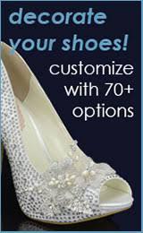 Decorate Shoes Wedding Shoes For Bride Bridalshoes Com