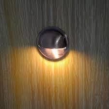 7colors pack of 6 12v outdoor floor lamp waterproof deck stair