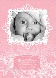 free photoshop and vector baby announcement templates on behance