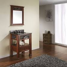 24 Bathroom Vanity With Granite Top avanity napa single 24 inch transitional bathroom vanity dark