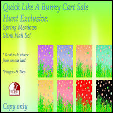 like a bunny quick like a bunny sim hunt gifts i heart the cart