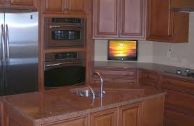 tv in kitchen ideas small tv for kitchen home design ideas and pictures