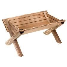 wooden cradle for baby jesus statues online sales on holyart com