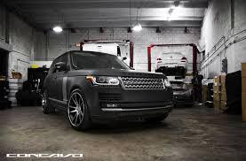 land rover range rover sport matte black pure luxury matte black range rover vogue by concavo u2014 carid com
