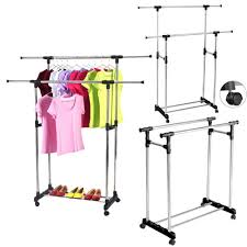 rolling z rack planning u0026 galvanized pipe clothes rack