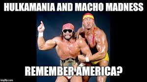 Macho Man Randy Savage Meme - hulk hogan macho man randy savage excited memes imgflip