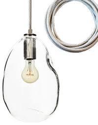 Large Glass Pendant Light Bubble Nickel Hand Blown Glass Pendant Light Large Pendant
