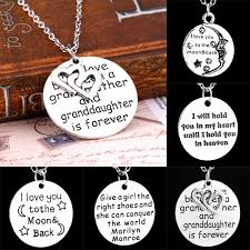 tag chain necklace images Wholesale beautiful grandmother love necklaces english letters jpg