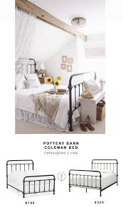 pottery barn coleman bed copy cat chic copy cat chic copy