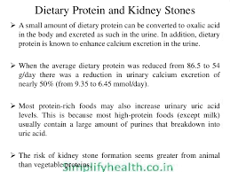 diet and kidney renal stone