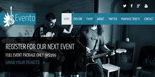 evento html music events template bypeople