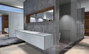 open bathroom design inland zone