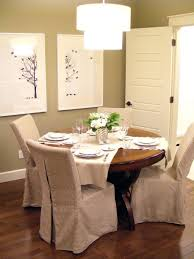 dining chairs slipcovered dining chairs on casters slipcovered