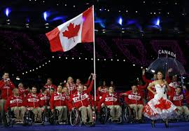Canada Flag Bearer Story 33 Garett Hickling Canadian Wheelchair Sports Association