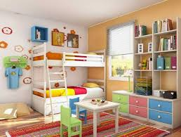 Kids Room Design Ideas With Functional Two Children Bedroom Decor - Design kids bedroom