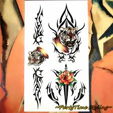 Tattoo Home Decor Art Polymer Picture More Detailed Picture About Yellow Tiger