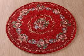 Red Round Rug Round Christmas Rugs Roselawnlutheran