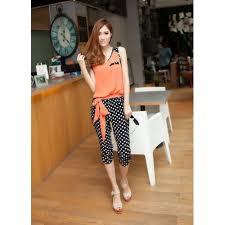 trendy jumpsuits trendy color block polka dot print splice slimming summer jumpsuit