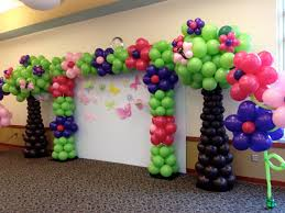 decor view how to make flower balloon decorations home design