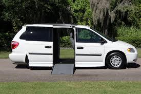 wheelchair van handicap ramp van braun mobility 2005 dodge grand