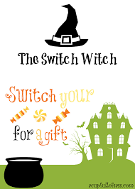Halloween Candy Poems The Switch Witch A Cup Full Of Sass