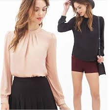 womens tops and blouses 2018 womens tops fashion 2017 chiffon blouse plus