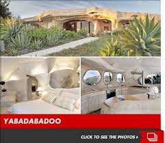 dick clark flintstone house photos dick clark i m selling my flintstones house tmz com