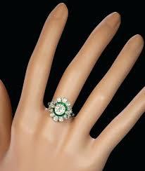 vintage art deco diamond engagement rings vintage art deco