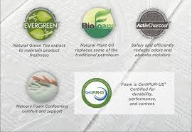 Latex Vs Memory Foam Sleepopolis Zinus Memory Foam Green Tea Mattress Review