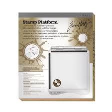 Stamp On Right Or Left Amazon Com Tonic Studios Tim Holtz Stamp Platform