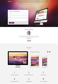 landing page templates for blogger landing page template 90 free psd format download free