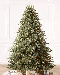 balsam hill color clear lights blue spruce christmas tree balsam hill