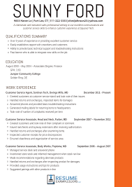 resume exles for customer service position effective customer service resume exles 2018
