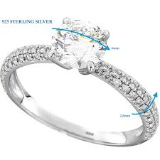 silver wedding ring sets for him and his and hers classic wedding engagement rings set