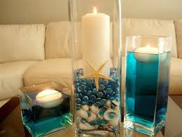 beach themed floating candles wedding centerpieces lantern