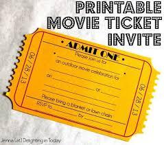 free printable ticket invitations best 20 ticket template free