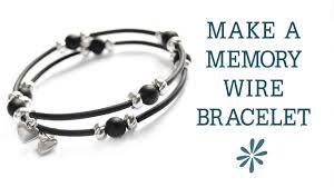 bracelet tutorials youtube images Memory wire bracelet beginner 39 s jewelry making project jpg