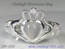 claddagh ring story claddagh moonstone rings custom made gold and silver cladagh