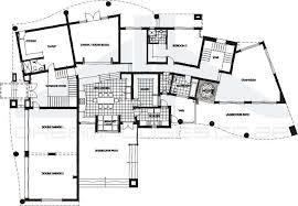 modern mansion floor plans modern home designs floor plans house plans 39852
