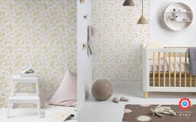 papier peint pour chambre bébé papier peint bébé floral pastel déco chambre enfant fille