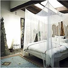 amazon com goplus 4 corner post bed canopy mosquito net full