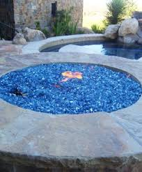 Fire Pit With Glass by Fire Glass Reflective Non Reflective For Fire Pits And