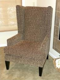 Leopard Chaise Lounge Leopard Print Armchair Collection In Printed Accent Chair With