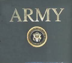 k and company army 12 x 12 post bound scrapbook